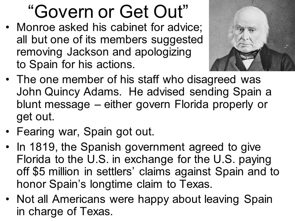 Govern or Get Out