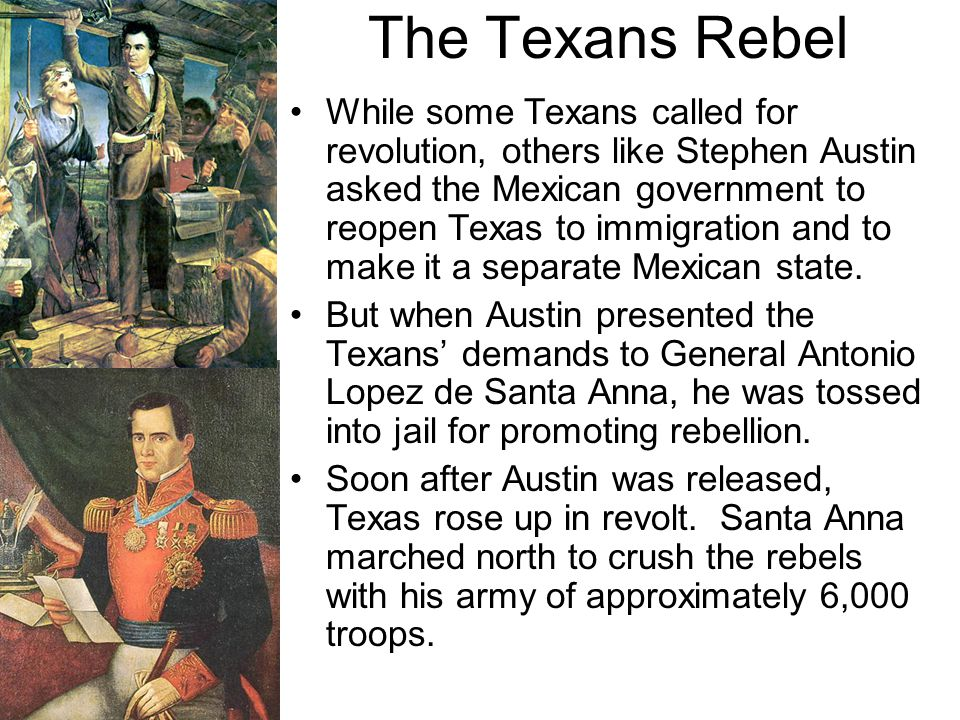 The Texans Rebel