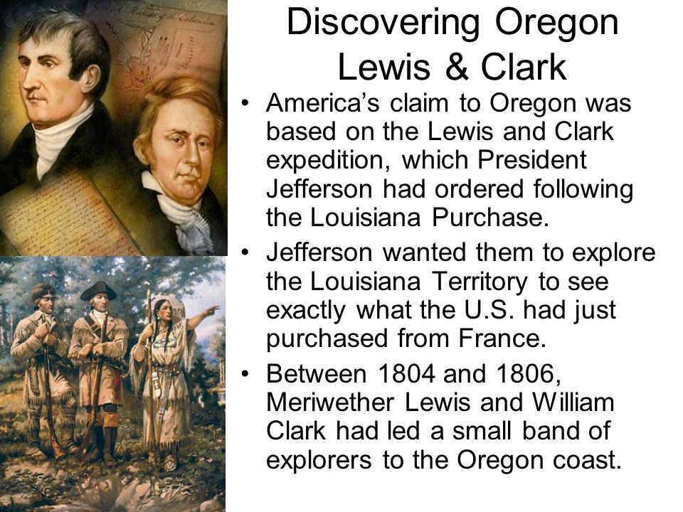 Discovering Oregon Lewis & Clark