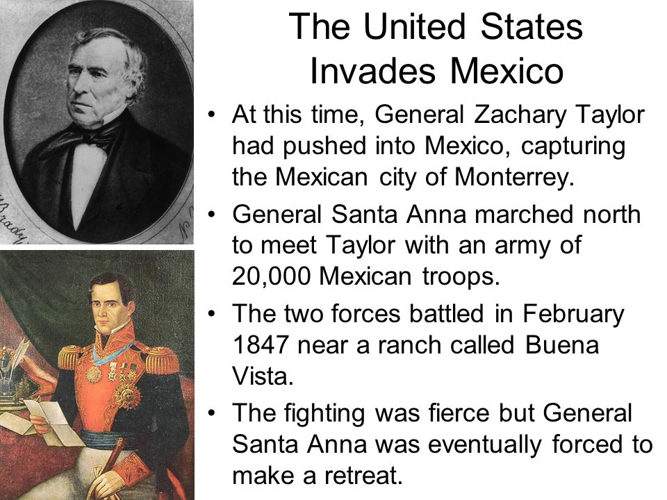 The United States Invades Mexico