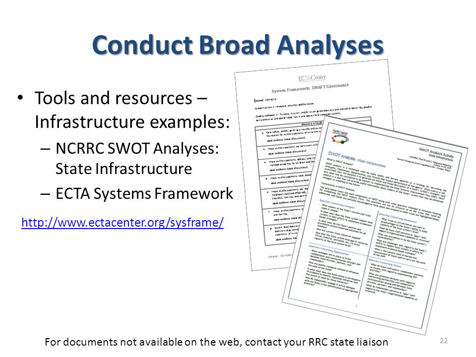 Conduct Broad Analyses