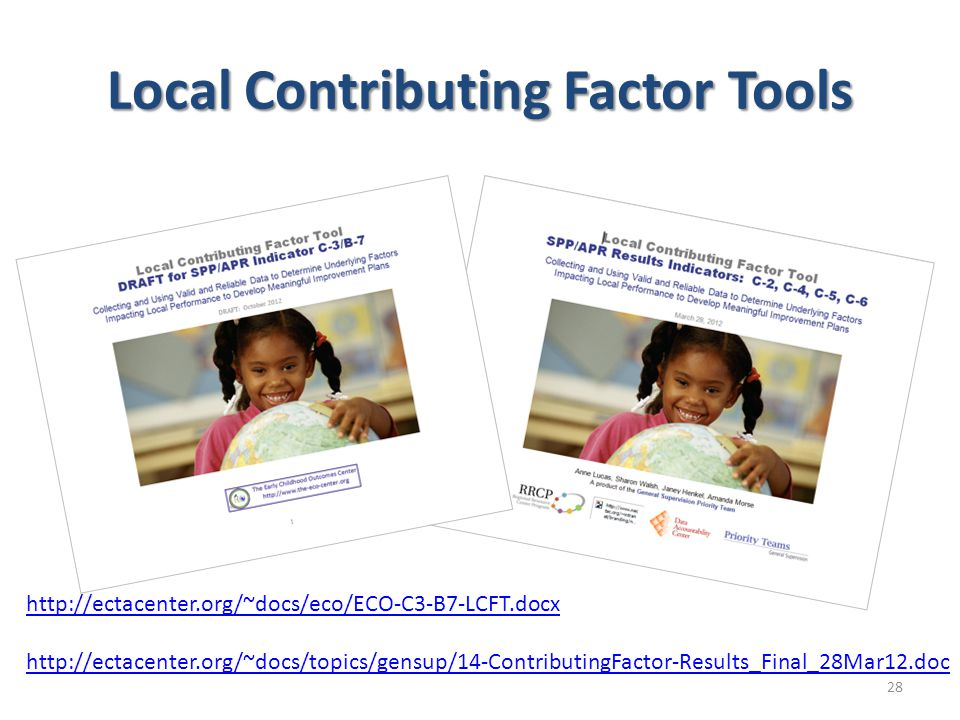 Local Contributing Factor Tools