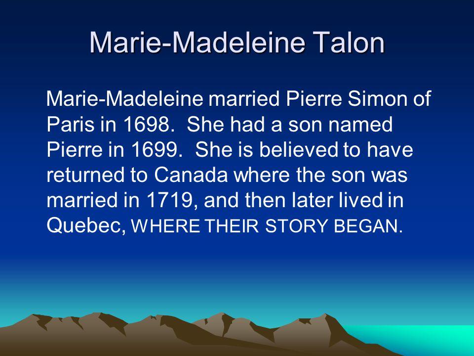 Marie-Madeleine Talon
