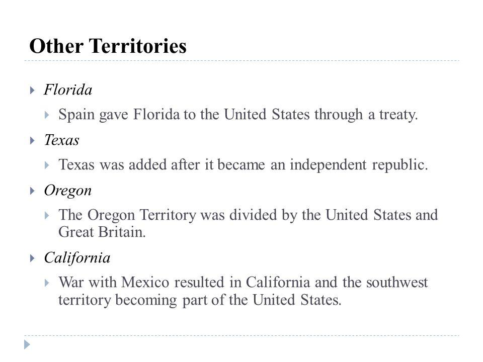 Other Territories Florida