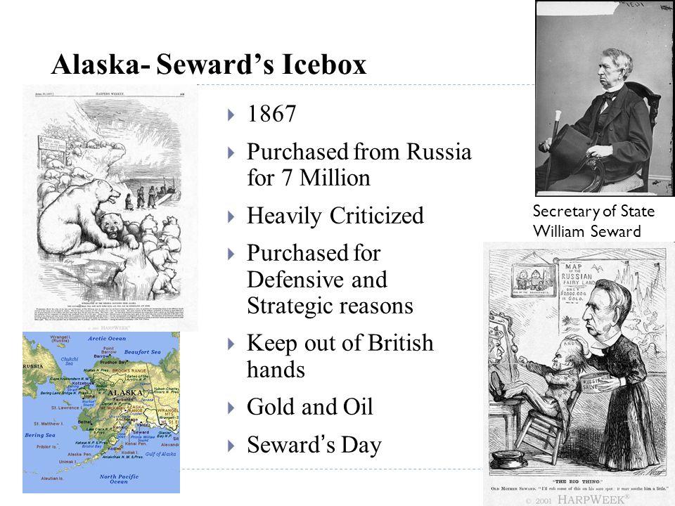 Alaska- Seward's Icebox