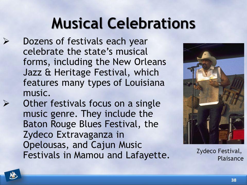 Musical Celebrations