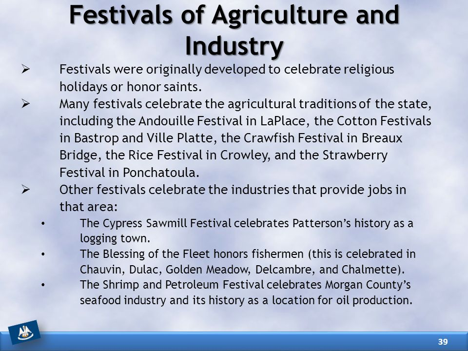 Festivals of Agriculture and Industry