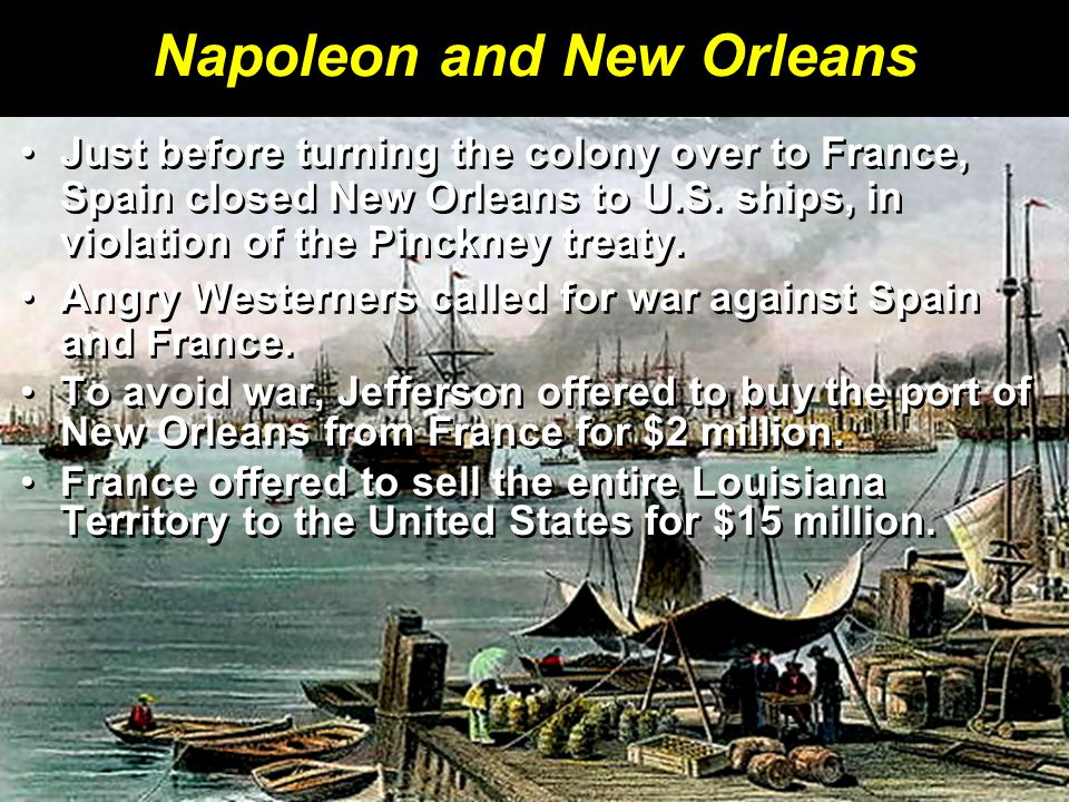 Napoleon and New Orleans