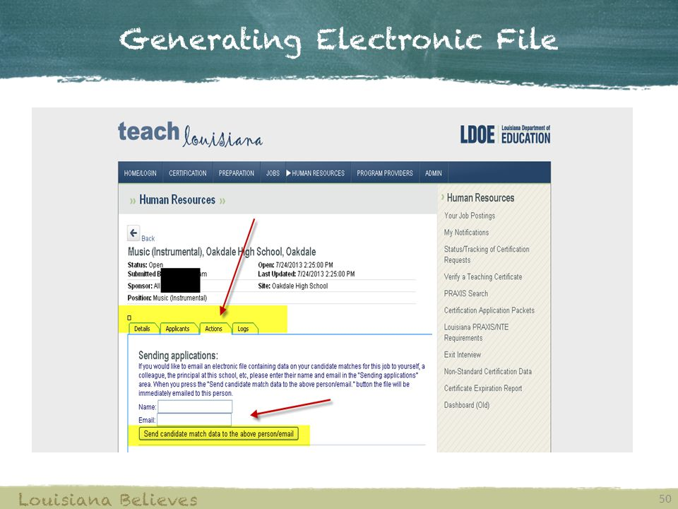 Generating Electronic File
