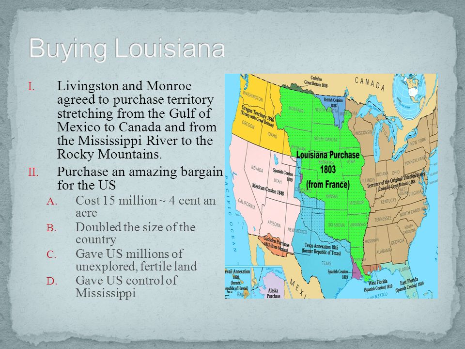 Buying Louisiana