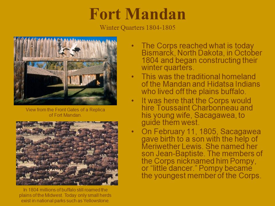 Fort Mandan Winter Quarters 1804-1805