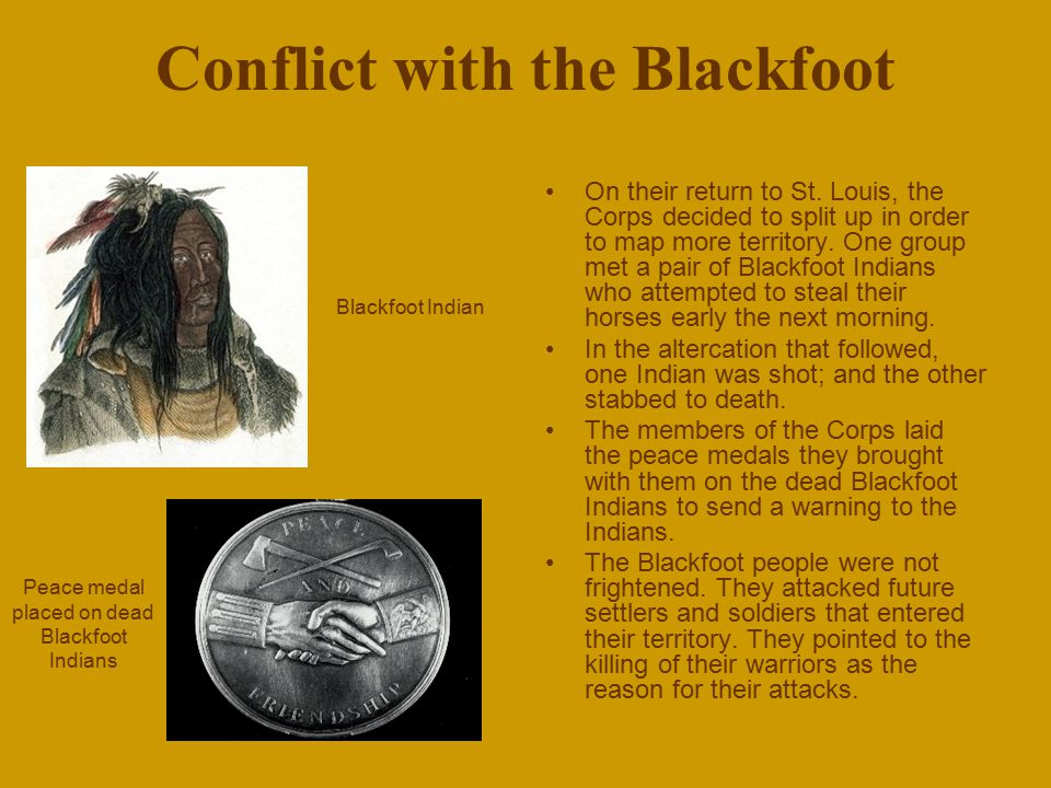 Conflict with the Blackfoot