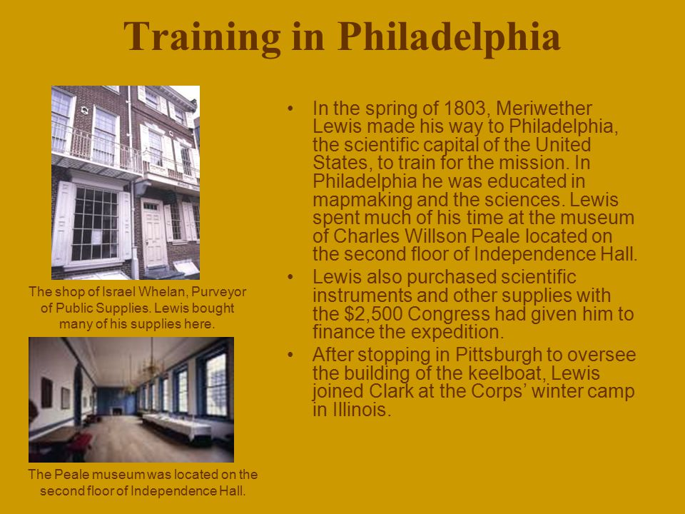 Training in Philadelphia