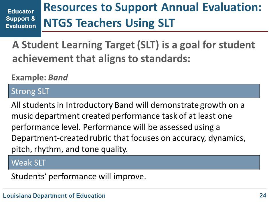 Educator Support & Evaluation