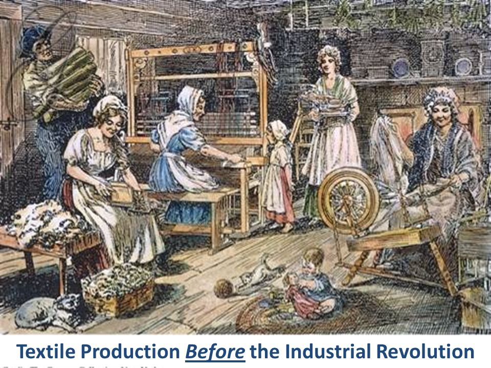 Textile Production Before the Industrial Revolution