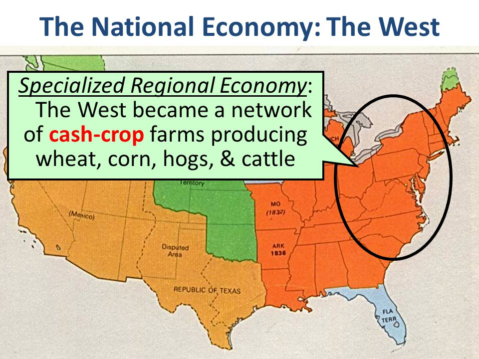 The National Economy: The West