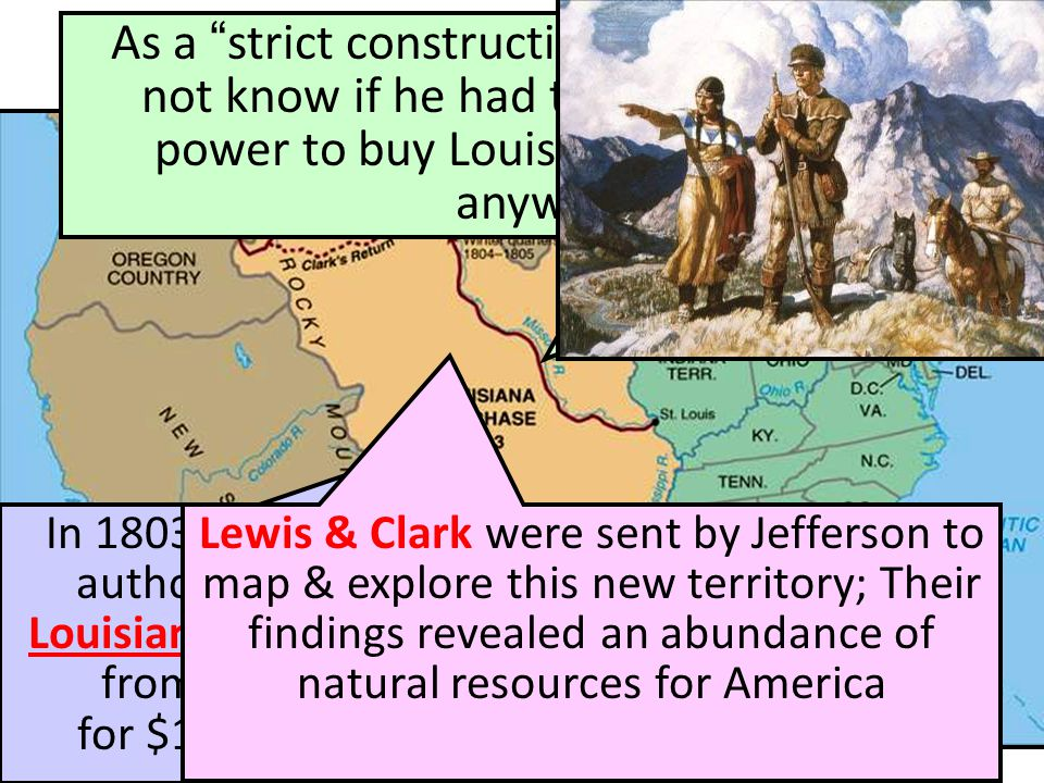 The Louisiana Purchase (1803)