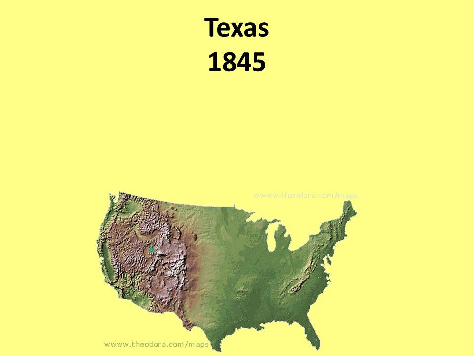 Texas 1845