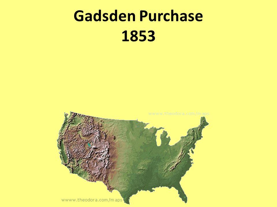 Gadsden Purchase 1853