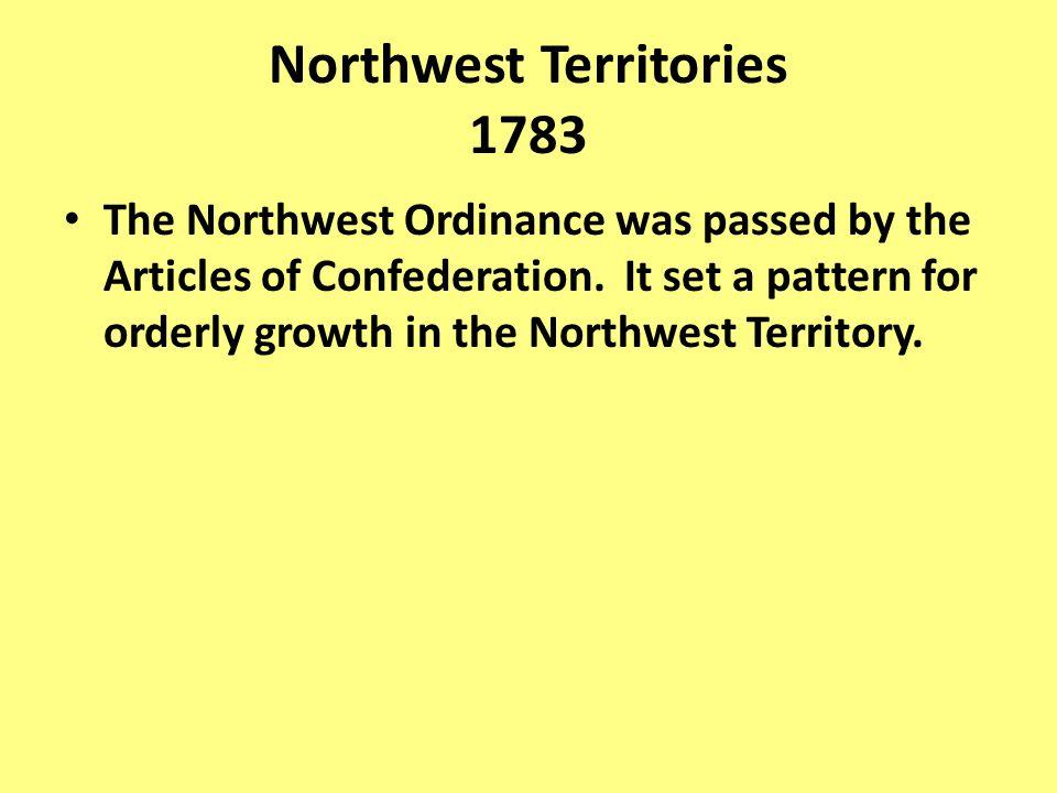 Northwest Territories 1783