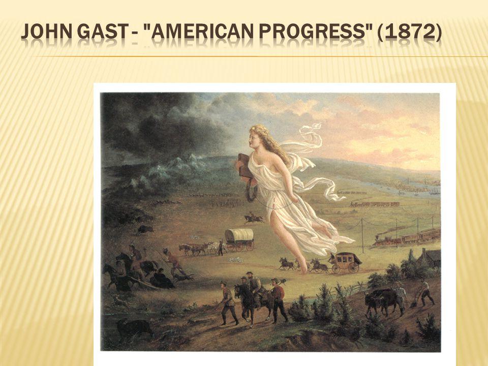 JOHN GAST - AMERICAN PROGRESS (1872)