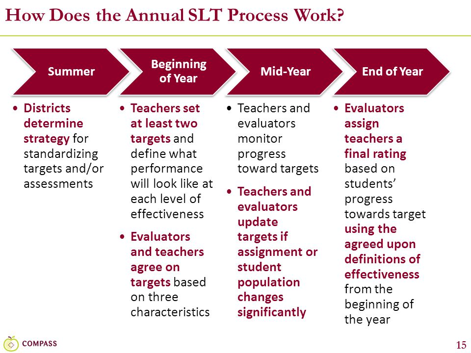 How Does the Annual SLT Process Work