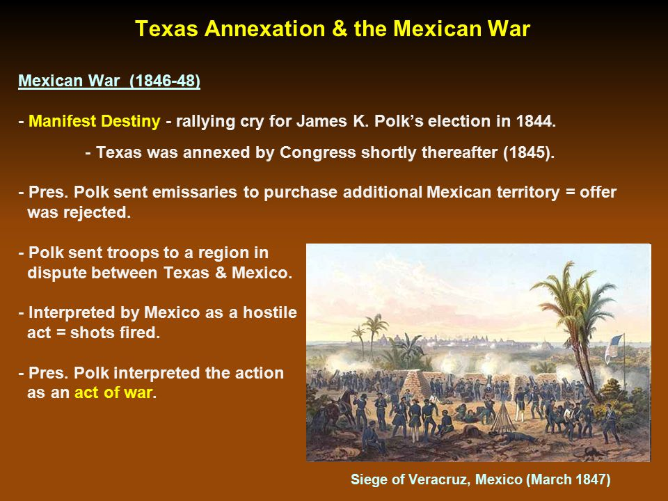 Major General Winfield Scott & U.S. Troops March into Mexico City