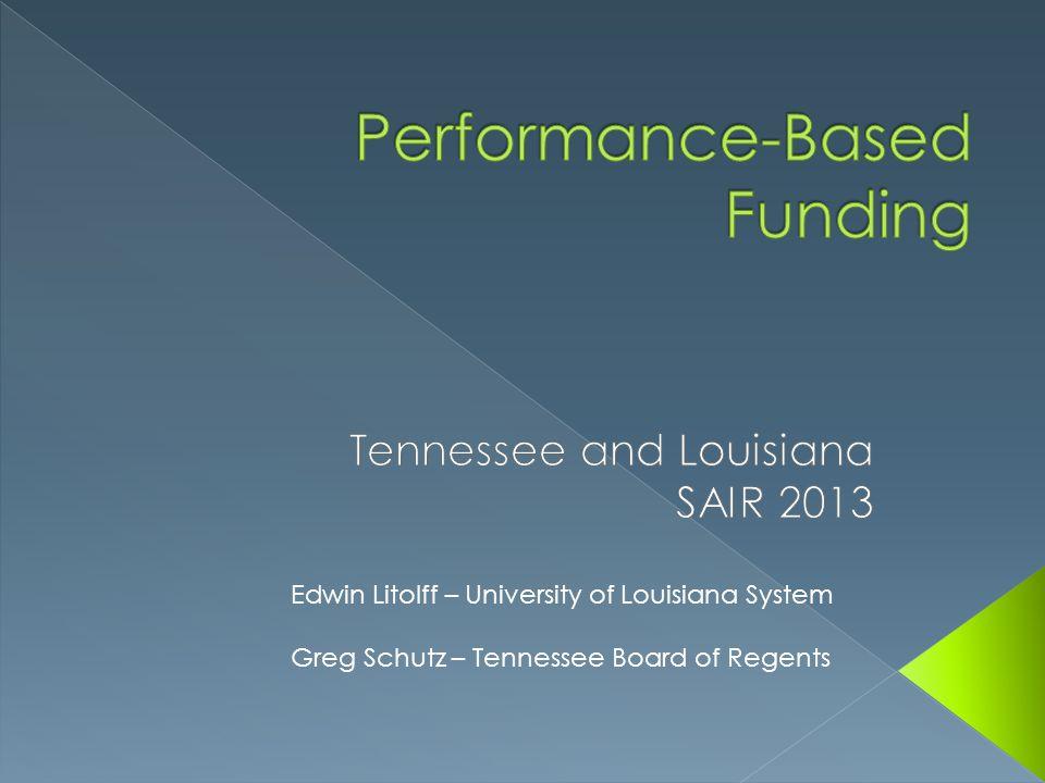 Performance-Based Funding