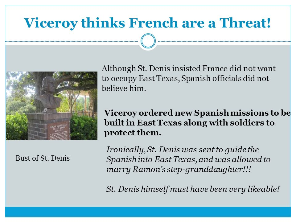 Viceroy thinks French are a Threat!
