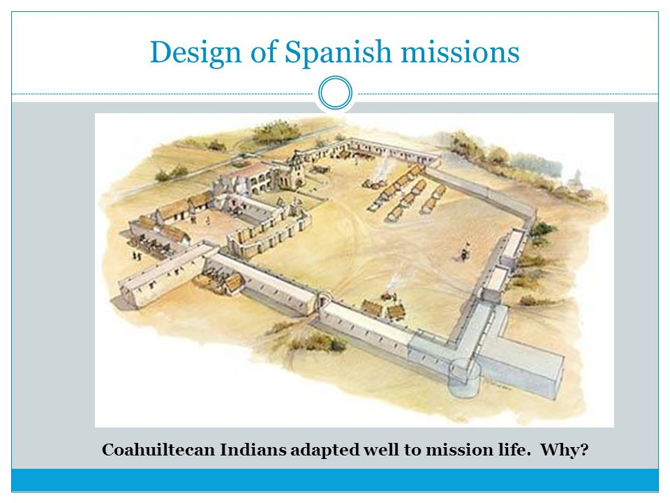 Design of Spanish missions