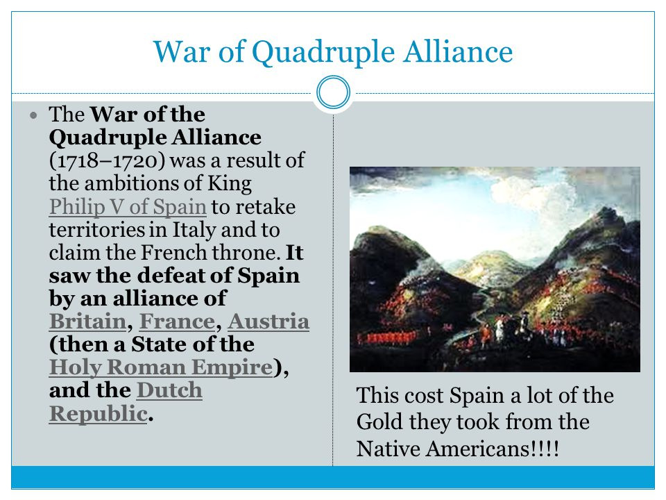 War of Quadruple Alliance