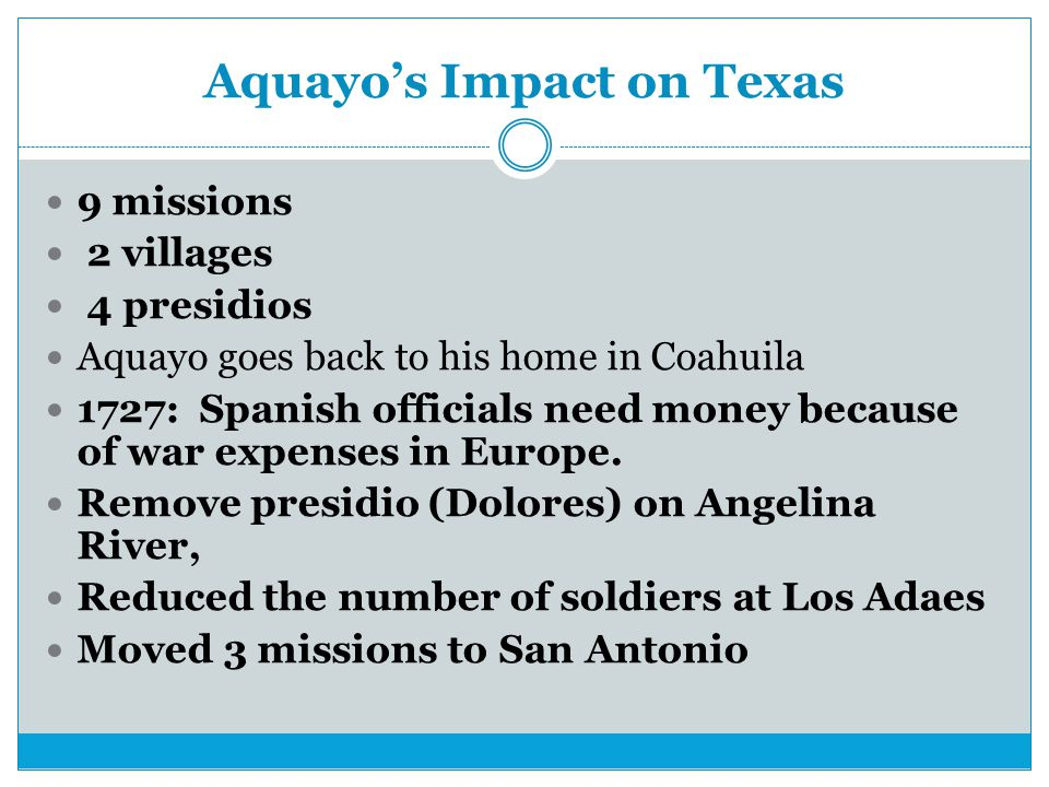 Aquayo's Impact on Texas