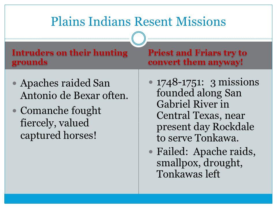 Plains Indians Resent Missions