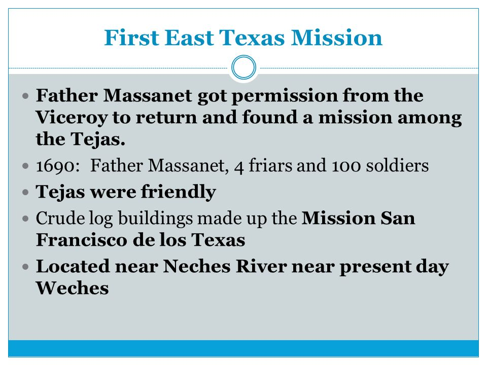 First East Texas Mission