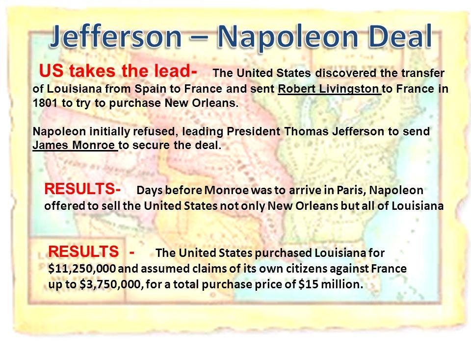 Jefferson – Napoleon Deal