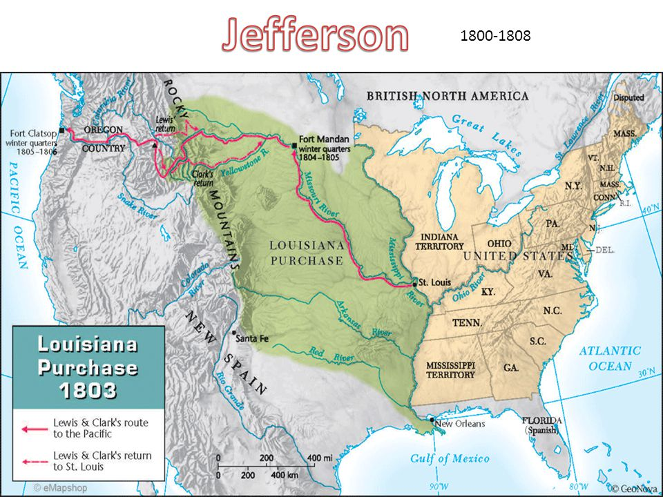 Jefferson 1800-1808
