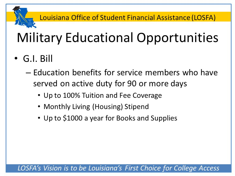 Military Educational Opportunities