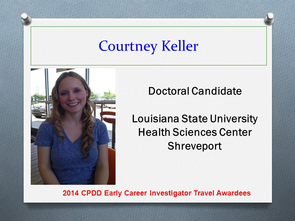 Courtney Keller Doctoral Candidate
