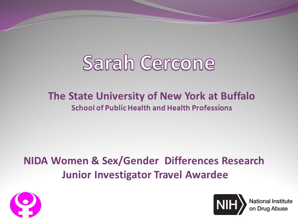 Sarah Cercone The State University of New York at Buffalo