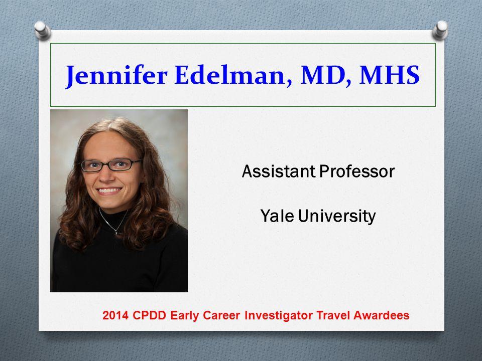 Jennifer Edelman, MD, MHS