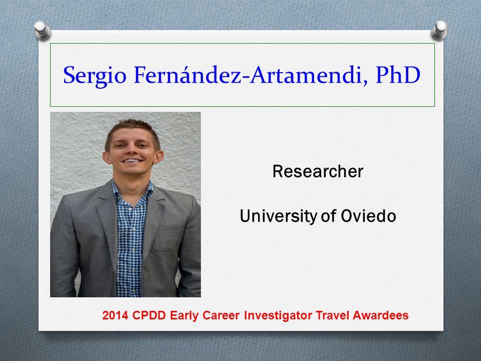Sergio Fernández-Artamendi, PhD