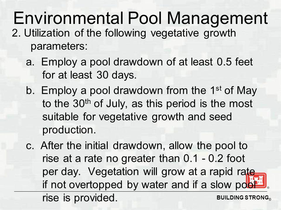 Environmental Pool Management