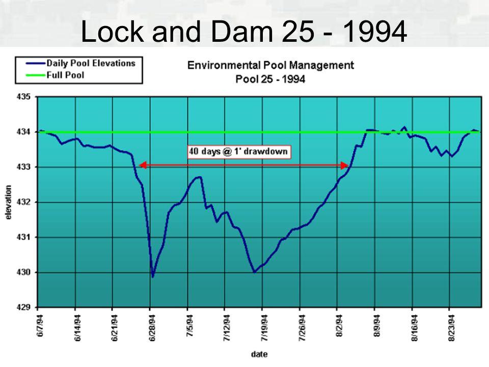 Lock and Dam 25 - 1994