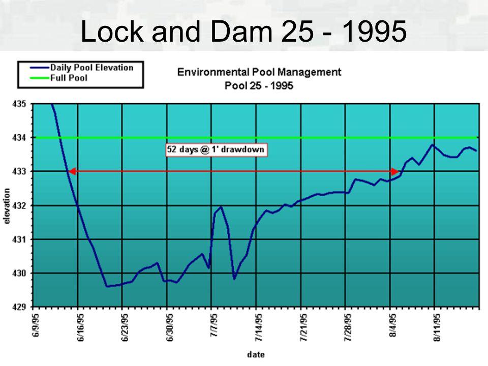 Lock and Dam 25 - 1995