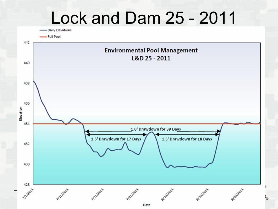 Lock and Dam 25 - 2011