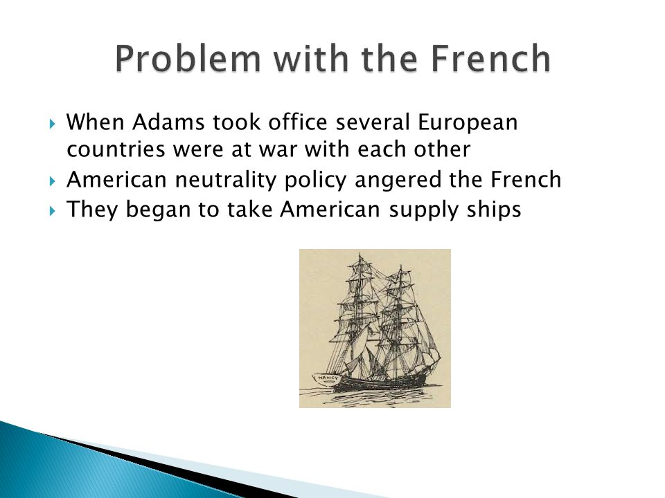 Problem with the French