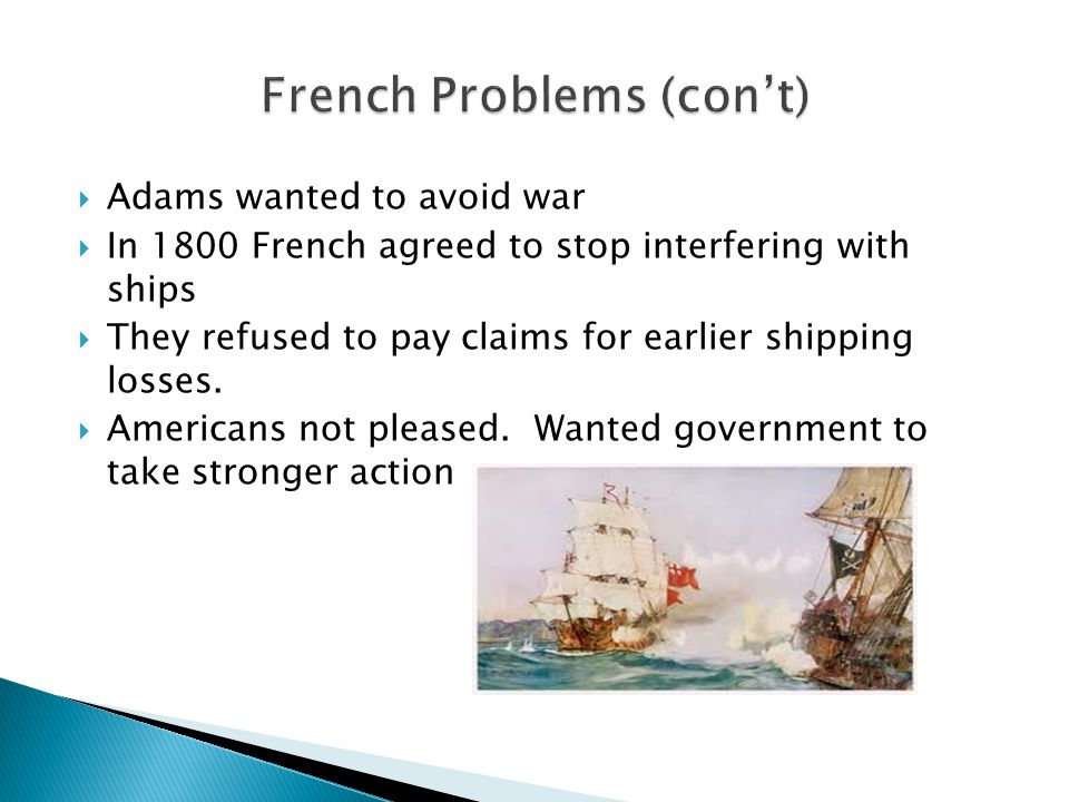 French Problems (con't)