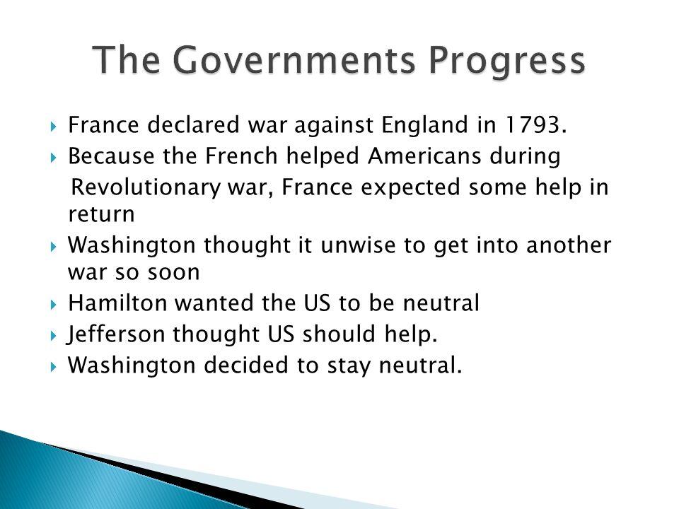 The Governments Progress