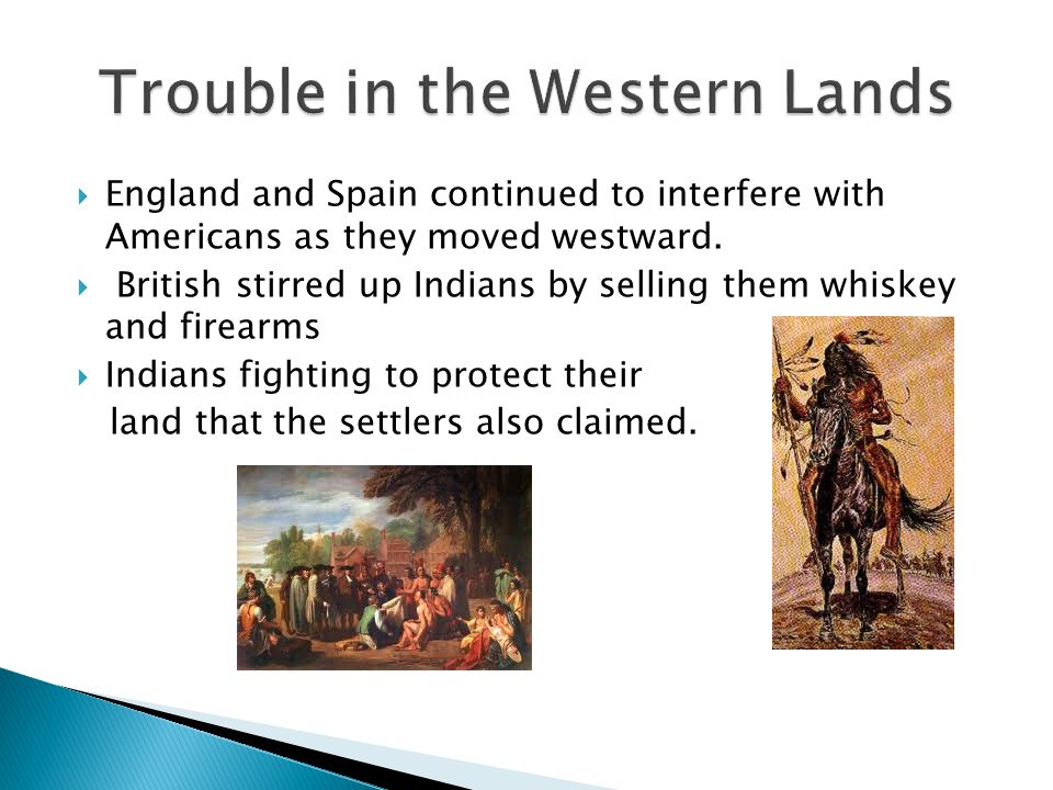 Trouble in the Western Lands