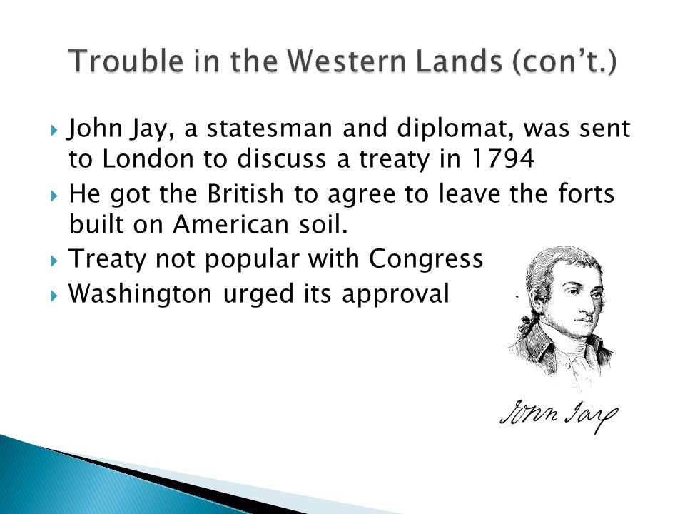 Trouble in the Western Lands (con't.)